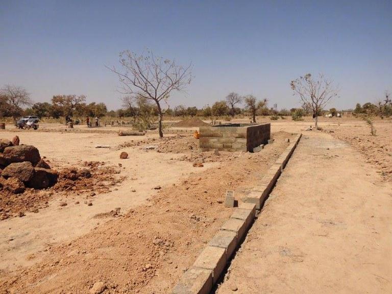 Wasserspeicher für die Baustelle